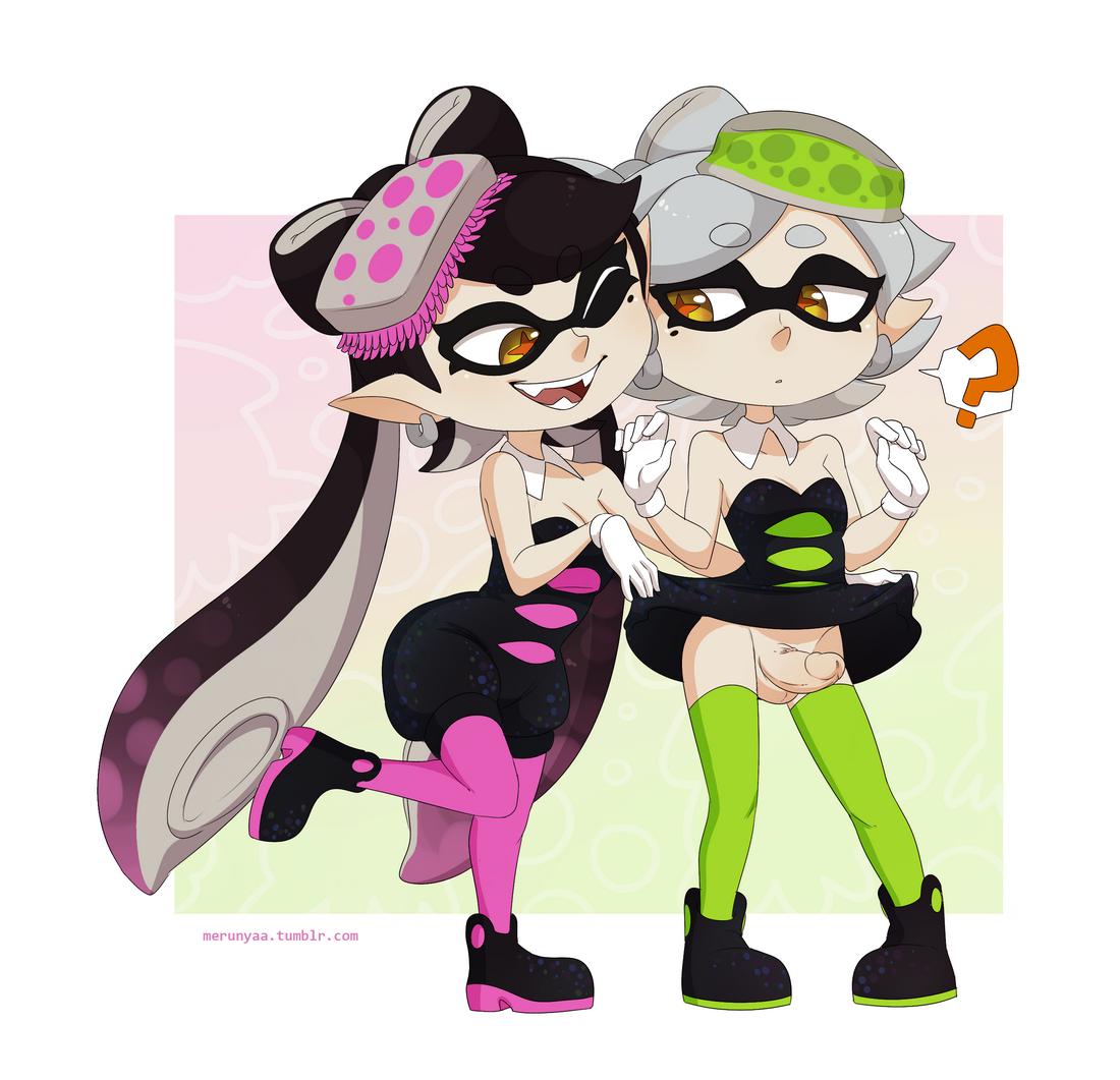 callie (splatoon)+marie (splatoon)+squid sisters